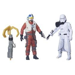 First order Snowtrooper Officer & Snap Wexley