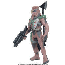 Chewbacca in Bounty Hunter Disguise