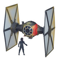 TIE Fighter du Premier Ordre (Desert Damage) + Pilote