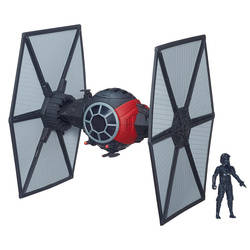First Order Special Forces TIE Fighter + First Order TIE Fighter Pilot