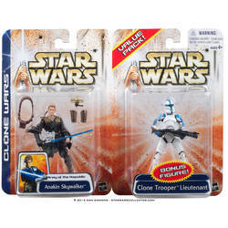 Anakin Skywalker and Clone Trooper Lieutenant (Value Pack)