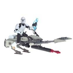 Clone Trooper with Speeder Bike (Clone Wars)