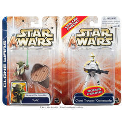 Yoda and Clone Trooper (Value Pack)
