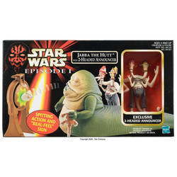 Jabba the Hutt with 2-Headed Announcer figure