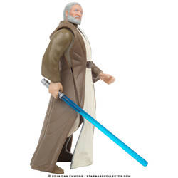 Ben (Obi-Wan) Kenobi with Lightsaber and Removeable Cloak