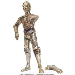 C-3PO with Removeable Arm