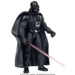 Darth Vader with Lightsaber and Removeable Cape