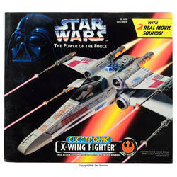Electronic X-Wing Fighter
