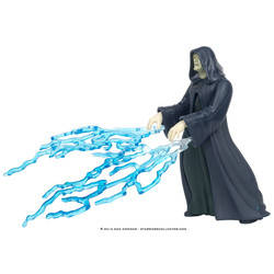 Emperor Palpatine with Lightning Bolts (Flashback)