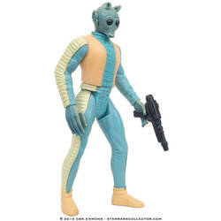 Greedo with Rodian Blaster Rifle