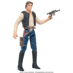 Han Solo with Blaster Pistol and Holster (Commtech)