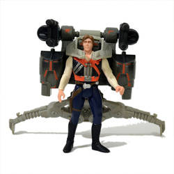 Han Solo with Smuggler's Flight Pack