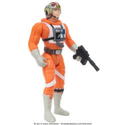 Luke Skywalker in X-Wing Pilot Gear