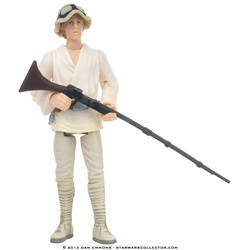 Luke Skywalker with Blaster Rifle and Electrobinoculars (Flashback)