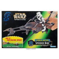 Power Racing Speeder Bike w/Biker Scout