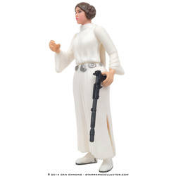 Princess Leia Organa with Blaster Rifle and Long-Barreled Pistol (All new Likeness)