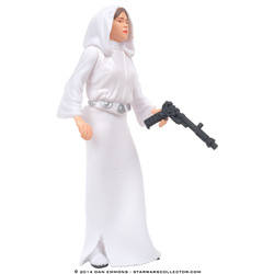 Princess Leia Organa with Sporting Blaster (Commtech)