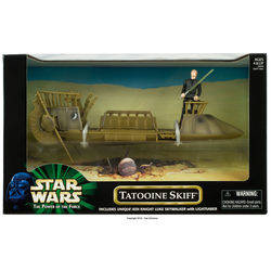 Tatooine Skiff with Luke Skywalker
