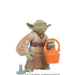 Yoda with Cane and Boiling Pot (Flashback)