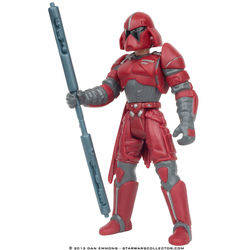 Luke Skywalker in Imperial Guard Disguise