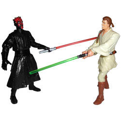 Final Lightsaber Duel (Obi-Wan and Darth Maul)