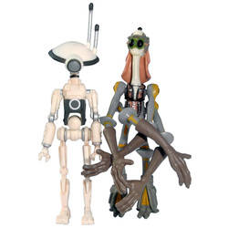 Gasgano and Pit Droid