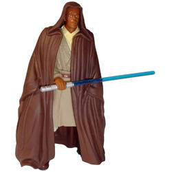 Mace Windu with Lightsaber and Jedi Cloak