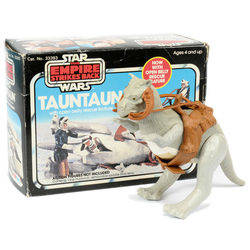 Tauntaun with Open Belly rescue feature
