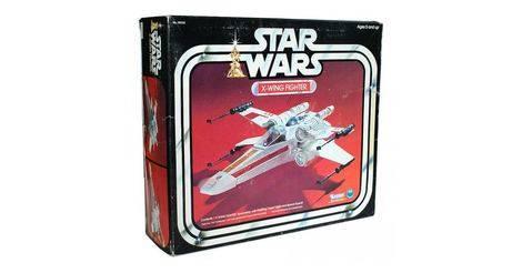 Star Wars vintage style Kenner X Wing canons 3D Imprimé Ensemble De 4 Noir