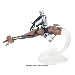 Speeder Bike with Scout and Cannon