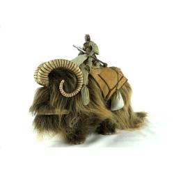 Bantha with Tusken Raider