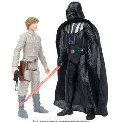 Bespin - Luke Skywalker and Darth Vader