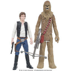 Death Star - Han Solo and Chewbacca