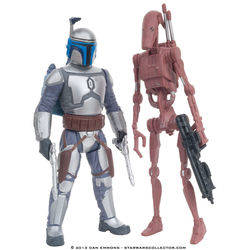 Geonosis - Battle Droid and Jango Fett