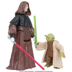 Senate Duel - Darth Sidious and Yoda
