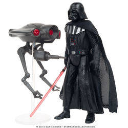 Star Destroyer - Darth Vader and Seeker Droid