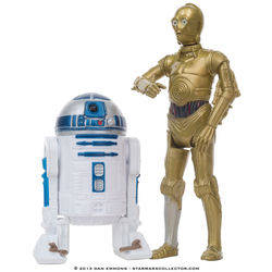 Tantive IV - R2-D2 and C-3PO