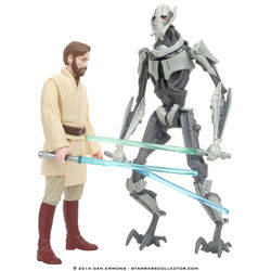 Utapau - Obi-Wan Kenobi and General Grievous