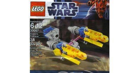LEGO STAR WARS 30057 ANAKIN ´S PODRACER POLYBAG NEU OVP UNGEÖFFNET 2012 SELTEN