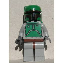 Boba Fett with Stone Gray Colors