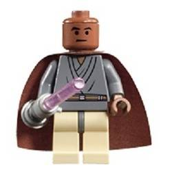Mace Windu with Light-Up Lightsaber
