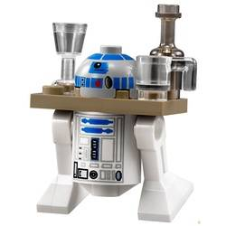 R2-D2 with Dark Tan Serving Tray