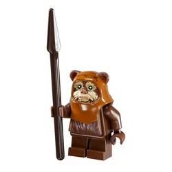 Wicket with Tan Face Paint Pattern