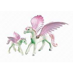 Pegasus with Foal