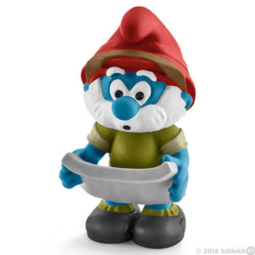 Smurfs Jungle Smurf Tired figure Schleich 20779