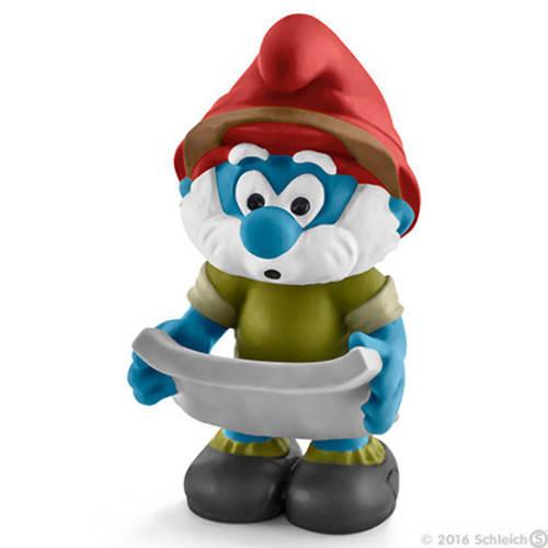 Smurfs Jungle Smurf Tired figure Schleich 20779