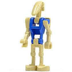Battle Droid Pilot with Blue Torso