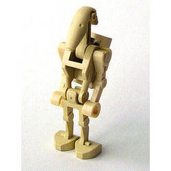 Battle Droid with Back Plate