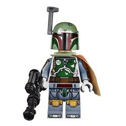 Boba Fett with Old Gray Outfit