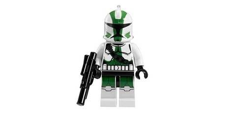 Clone Commander Gree Star Wars - LEGO Star Wars Minifigs